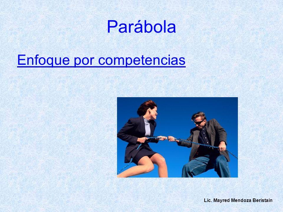 Parábola Enfoque por competencias Lic. Mayred Mendoza Beristain