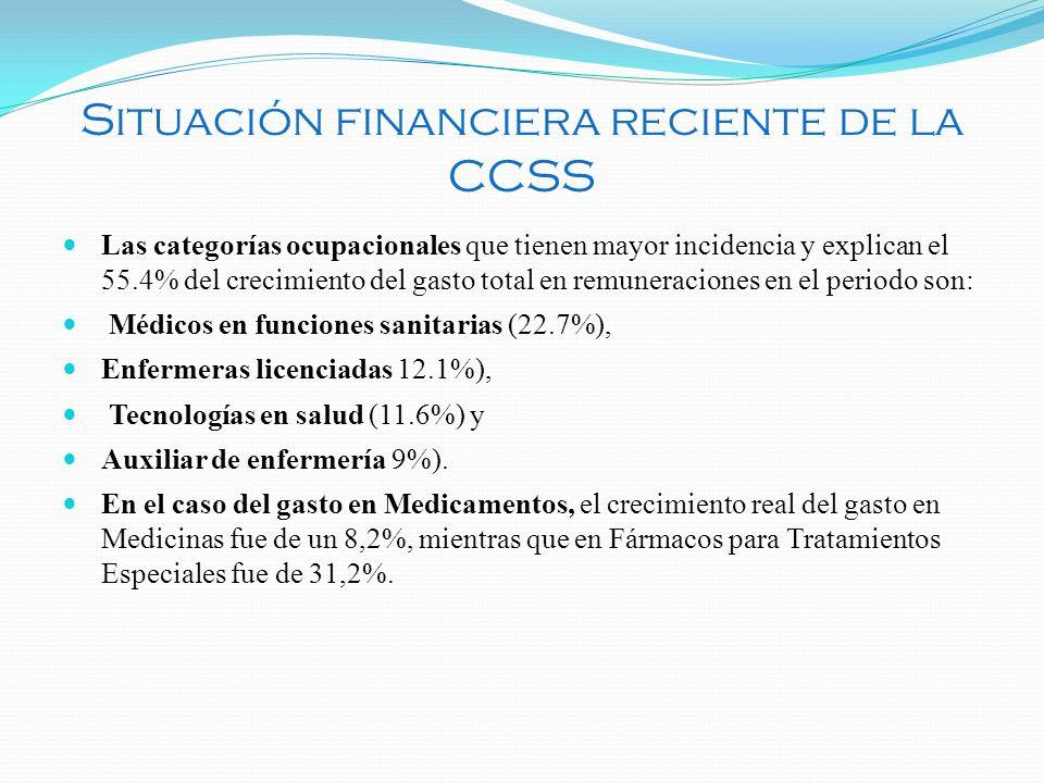 Las categorías ocupacionales que tienen mayor incidencia y explican el 55.4% del crecimiento del gasto total en remuneraciones en el periodo son: Médi