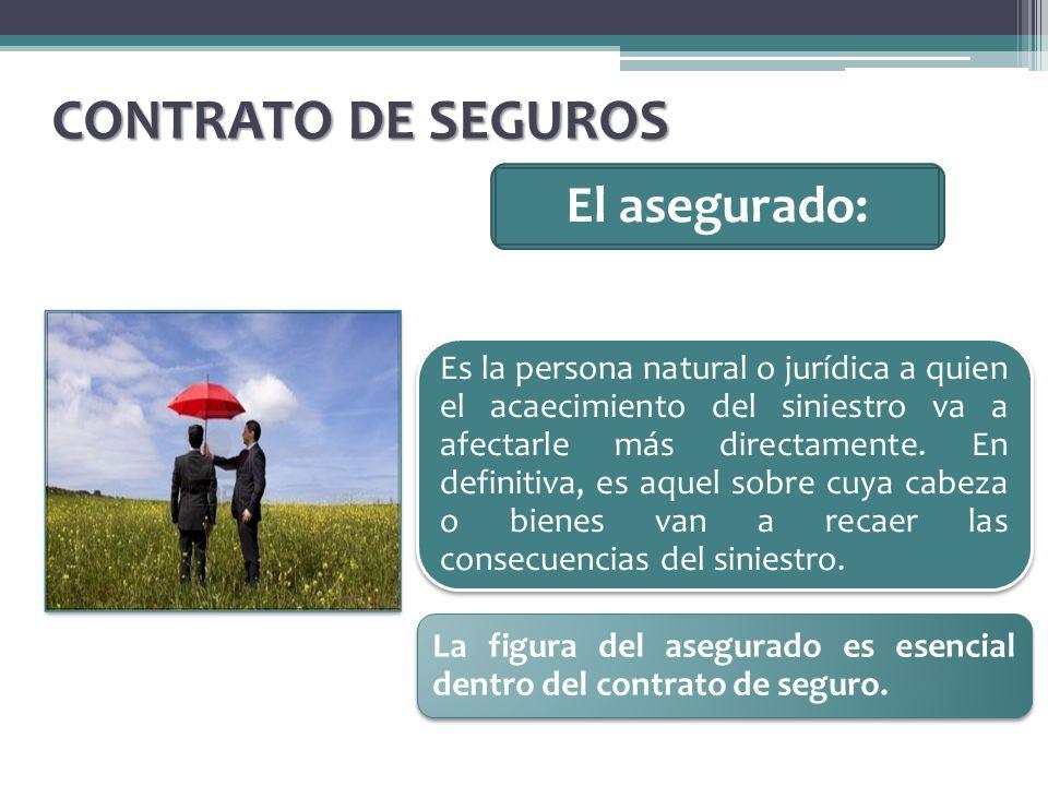 El beneficiario: CONTRATO DE SEGUROS Es la persona que tiene derecho a recibir la prestación del asegurador.