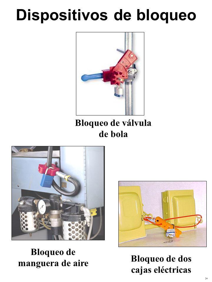 35 Bloqueo de valvulas de compuerta grande con bloqueo de cable flexible Dispositivos de bloqueo