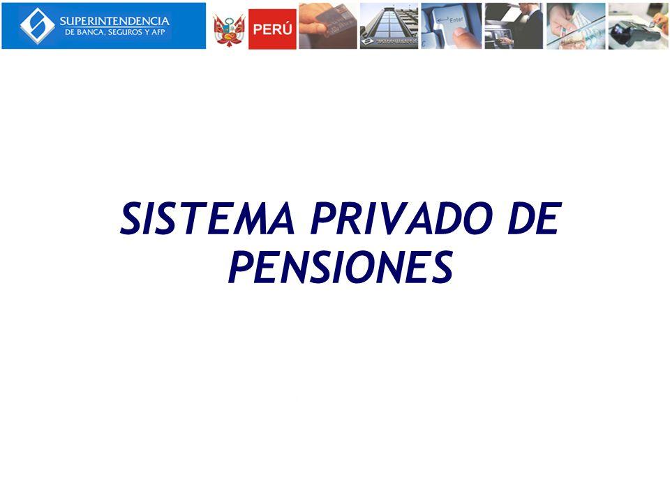 Se creó mediante Ley N° 25897 - Ley de creación del Sistema Privado de Administración de Fondos de Pensiones (SPP) en 1992.
