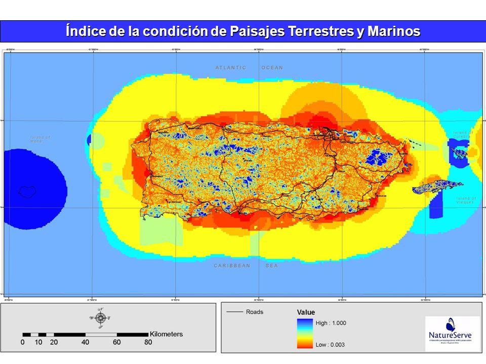 Índice de la condición de Paisajes Terrestres y Marinos