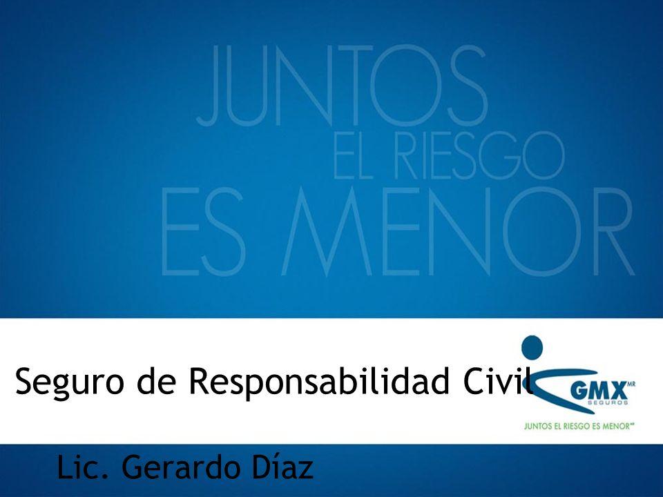 Seguro de Responsabilidad Civil Lic. Gerardo Díaz