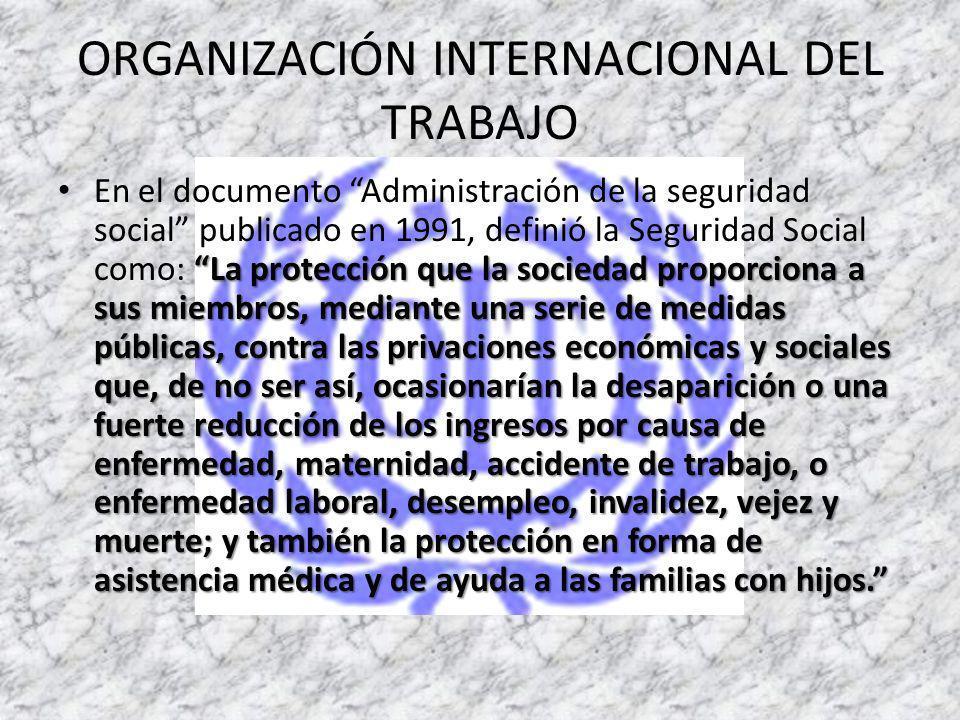 INTRODUCCION La Seguridad Social es entendida y aceptada como un derecho que le asiste a toda persona de acceder, por lo menos a una protección básica para satisfacer estados de necesidad.