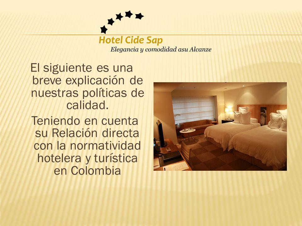 Reglamento de establecimientos de hospedaje (Decreto Supremo N° 029-2004- MINCETUR, 27.11.2004).