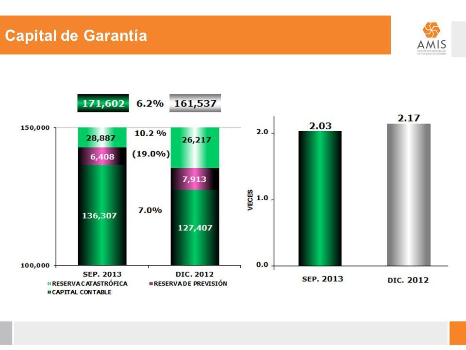 Capital de Garantía TRADICIONALES 471,937 74.5% TRADICIONALES 427,550 75.0 %
