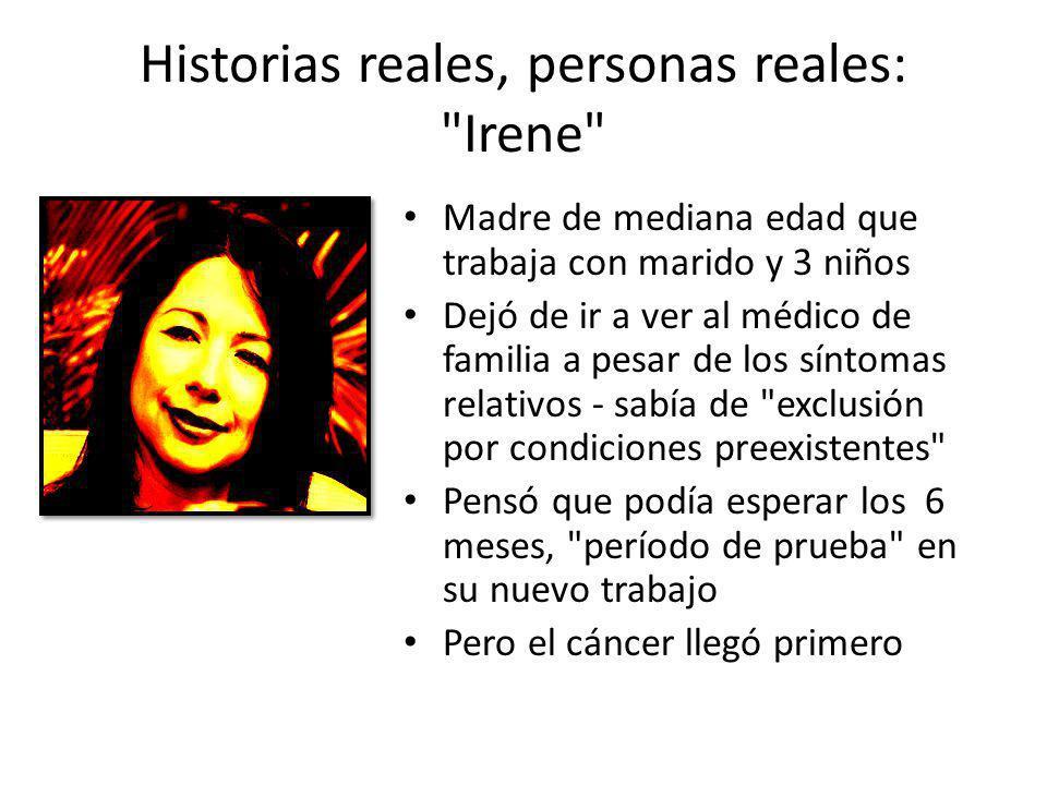 Historias reales, personas reales: