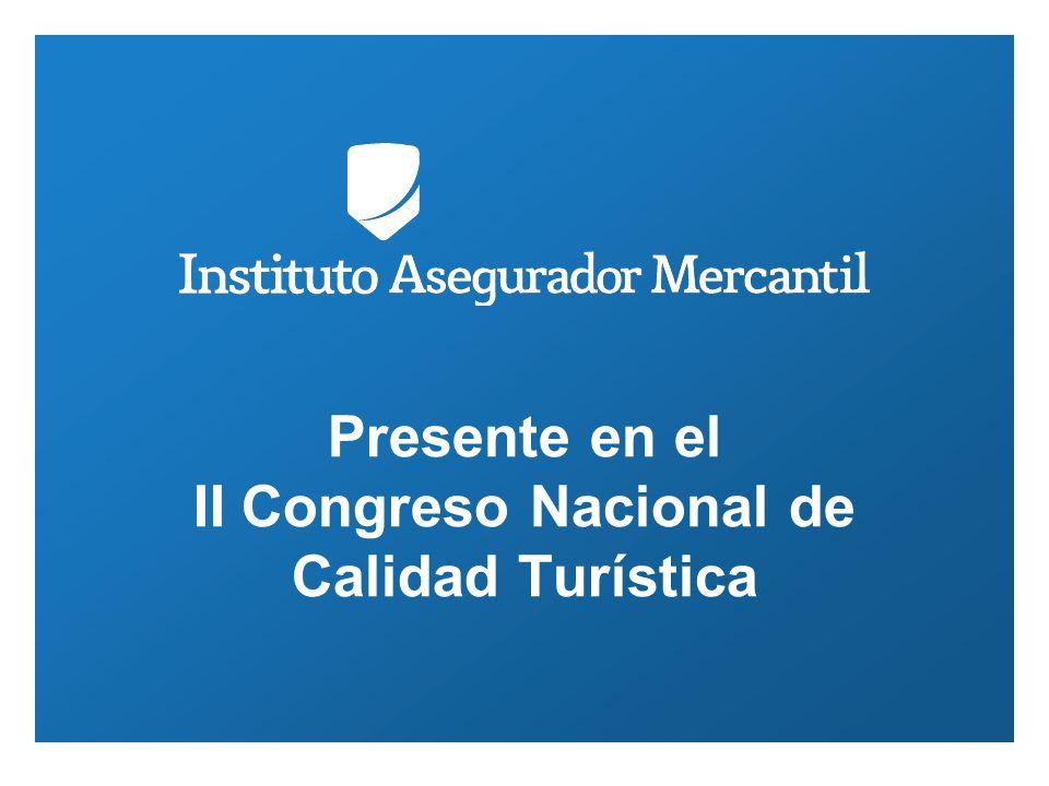 Presente en el II Congreso Nacional de Calidad Turística