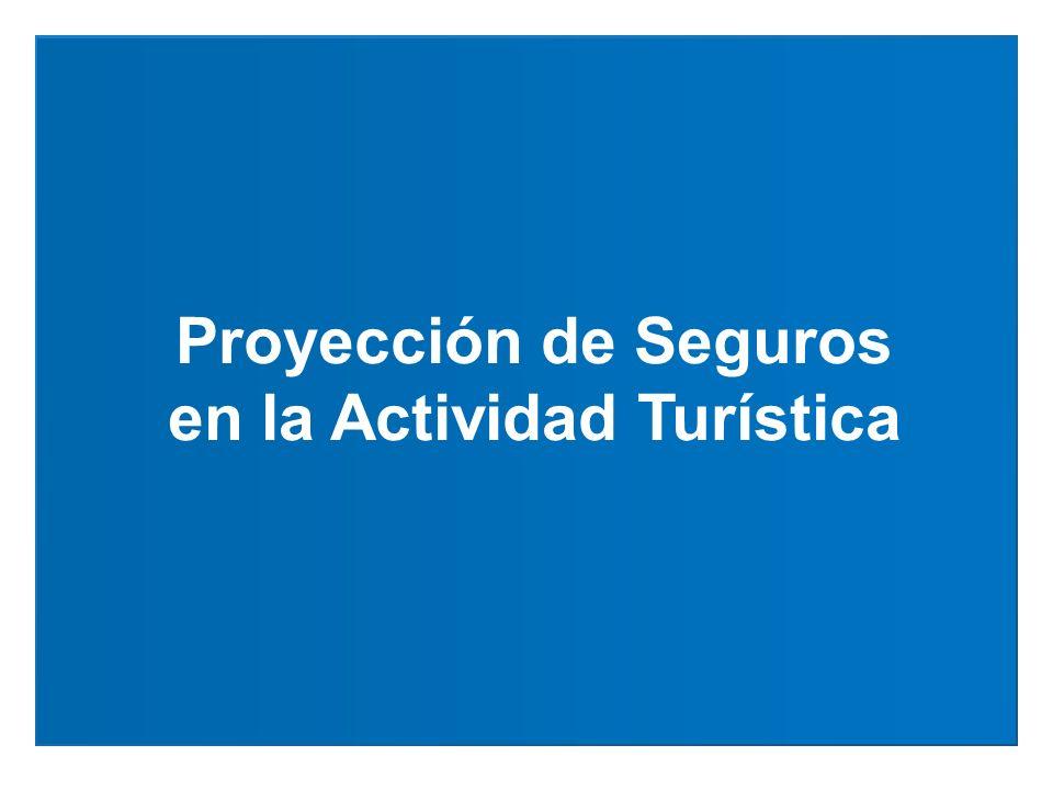 Proyección de Seguros en la Actividad Turística