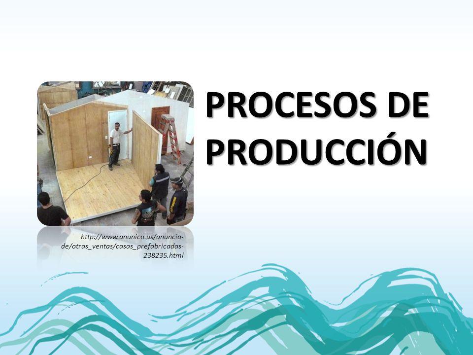 PROCESOS DE PRODUCCIÓN http://www.anunico.us/anuncio- de/otras_ventas/casas_prefabricadas- 238235.html