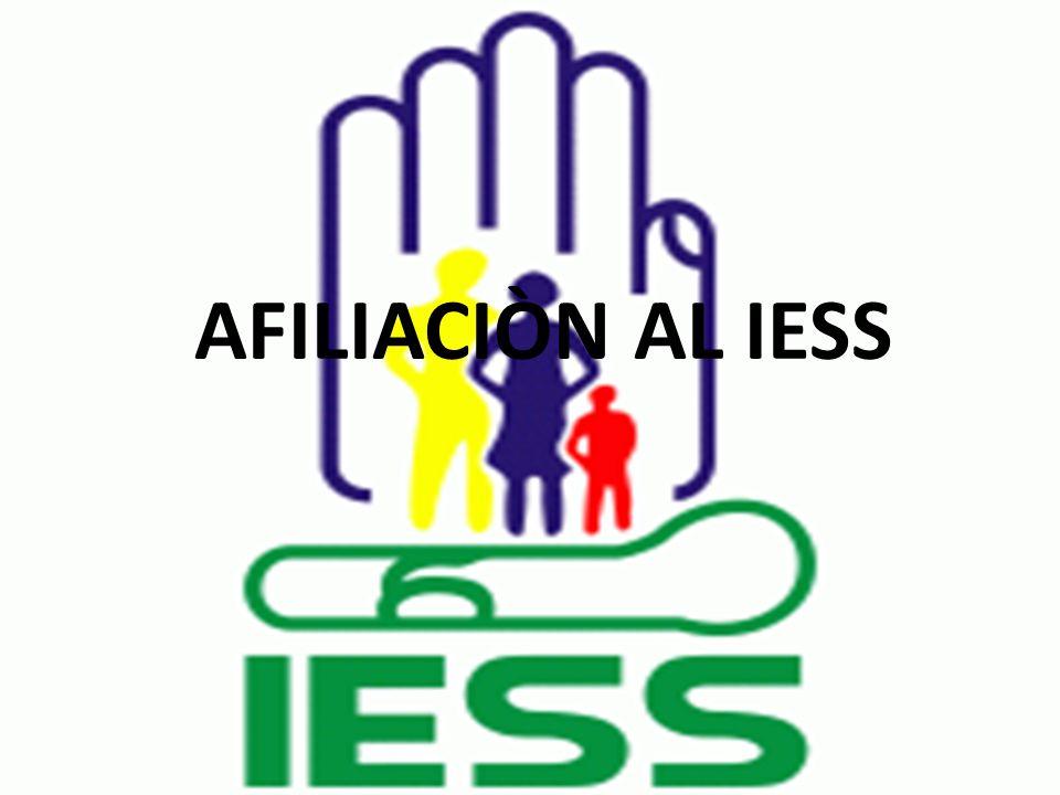Se pierde la afiliación voluntaria cuando: Notifica su retiro a través de la página Web del IESS o por escrito en las dependencias del IESS.