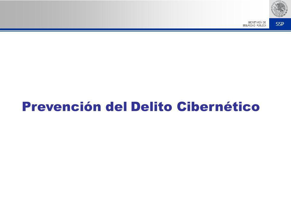 SSP SECRETARÍA DE SEGURIDAD PÚBLICA Prevención del Delito Cibernético