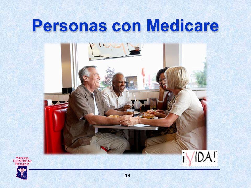 18 Personas con Medicare