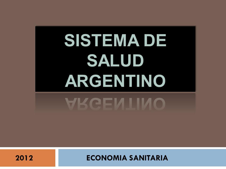 2012 ECONOMIA SANITARIA