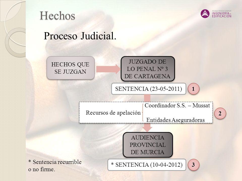 Juzgado de lo Penal nº3 de Cartagena SENTENCIA 23 de mayo de 2011 1 1 CONDENA al Coordinador en S.S.