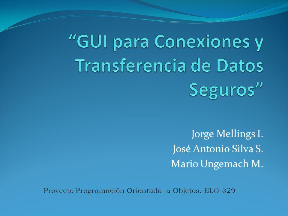 Jorge Mellings I. José Antonio Silva S. Mario Ungemach M. Proyecto Programación Orientada a Objetos. ELO-329
