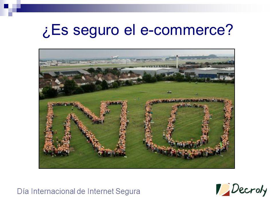 ¿Es seguro el e-commerce? Día Internacional de Internet Segura Robo de cartera Robo de identidad