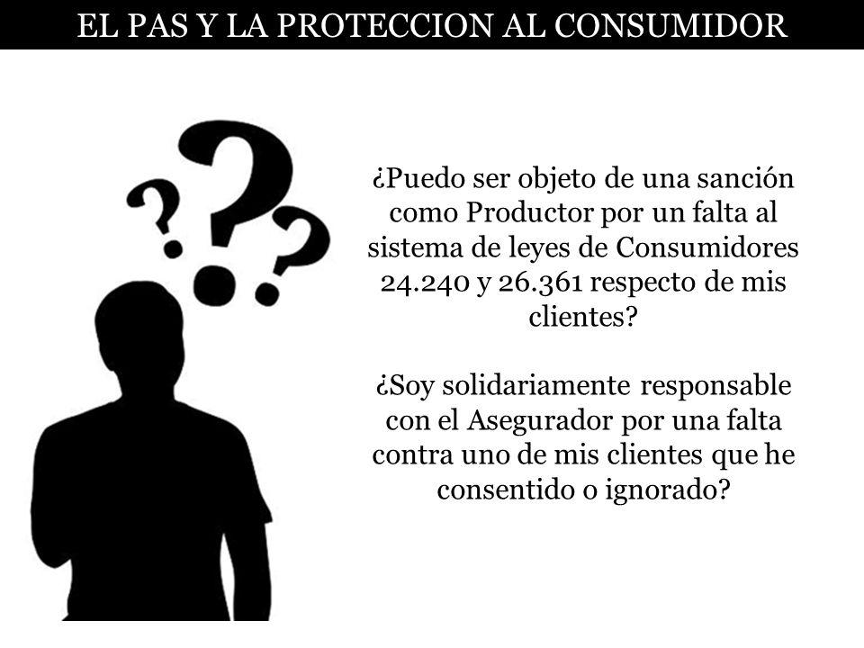 DOAA ¿Puedo ser objeto de una sanción como Productor por un falta al sistema de leyes de Consumidores 24.240 y 26.361 respecto de mis clientes? ¿Soy s