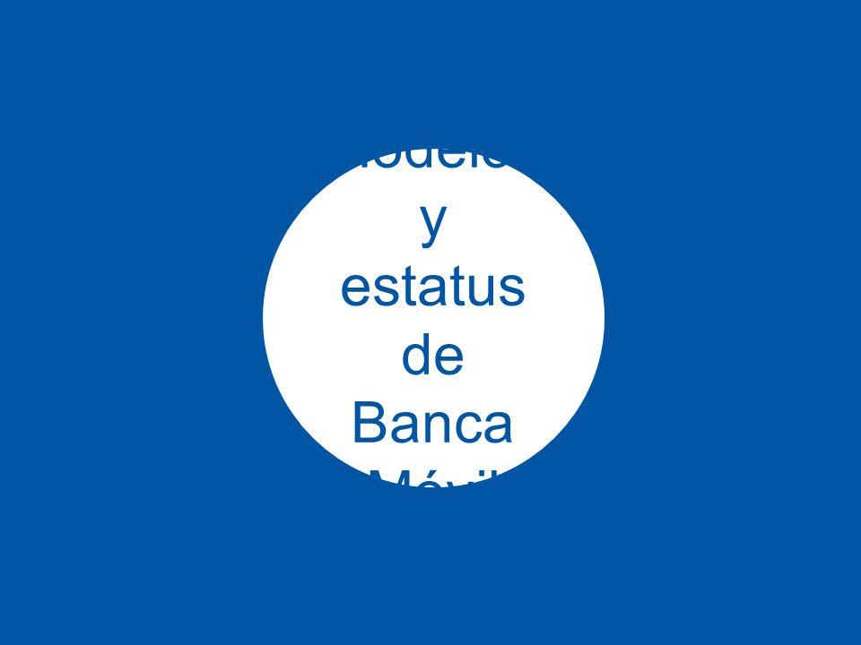 11 Modelos y estatus de Banca Móvil