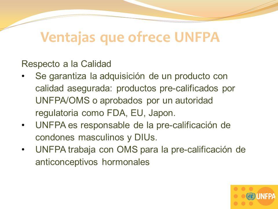Clientes de UNFPA en LAC Brasil (Minsa) Ecuador (Minsa) El Salvador (Minsa y ISSS) Honduras (Minsa, ONGs) México (Secretaria Salud) Panamá (Minsa) Paraguay (Minsa, ONGs) República Dominicana (Minsa) Uruguay (Minsa, Fuerzas Armadas) Venezuela (Minsa) El Caribe (diversos Minsa) 7