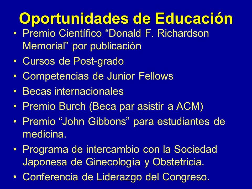 Reunión Clínica Anual(ACM) –Sesión de Sorprende al Profesor –Desayuno/junta de negocios para Junior Fellows. –Programa El Negocio de la Medicina Reuni