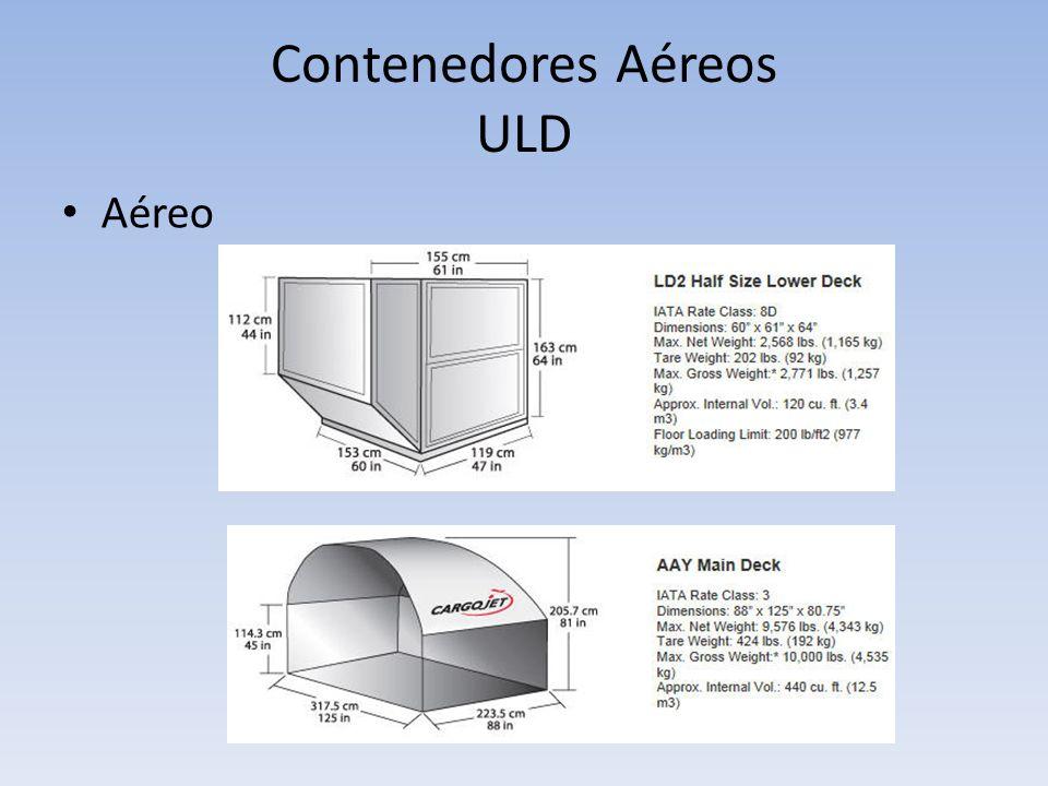 Contenedores Aéreos ULD Aéreo