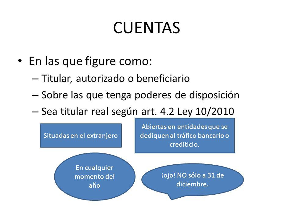VALORACIÓN DE LOS BIENES Saldos cuentas: el cambio a utilizar será el vigente a 31-12.
