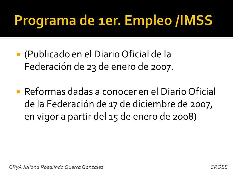 (Publicado en el Diario Oficial de la Federación de 23 de enero de 2007.