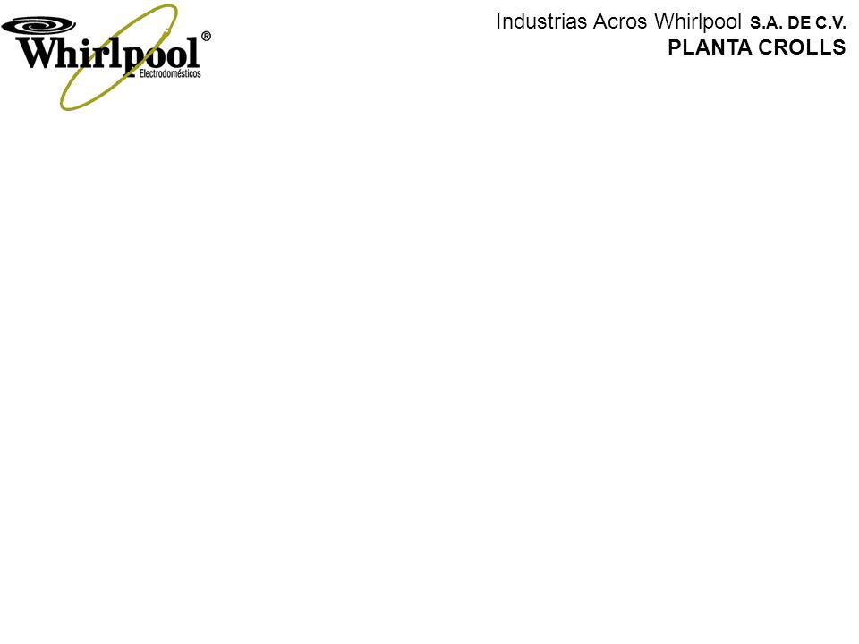 Industrias Acros Whirlpool S.A. DE C.V. PLANTA CROLLS