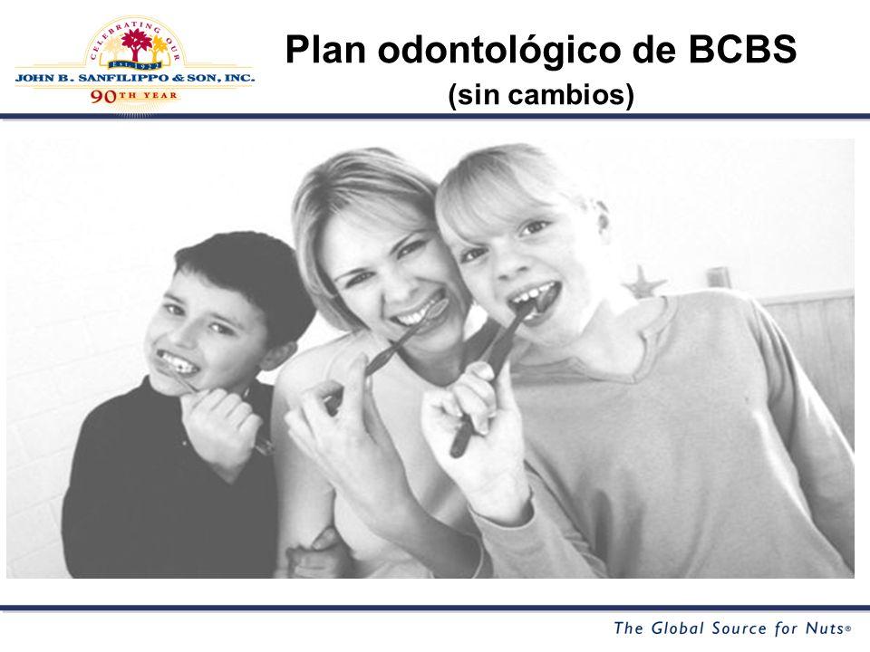 Plan odontológico de BCBS (sin cambios)