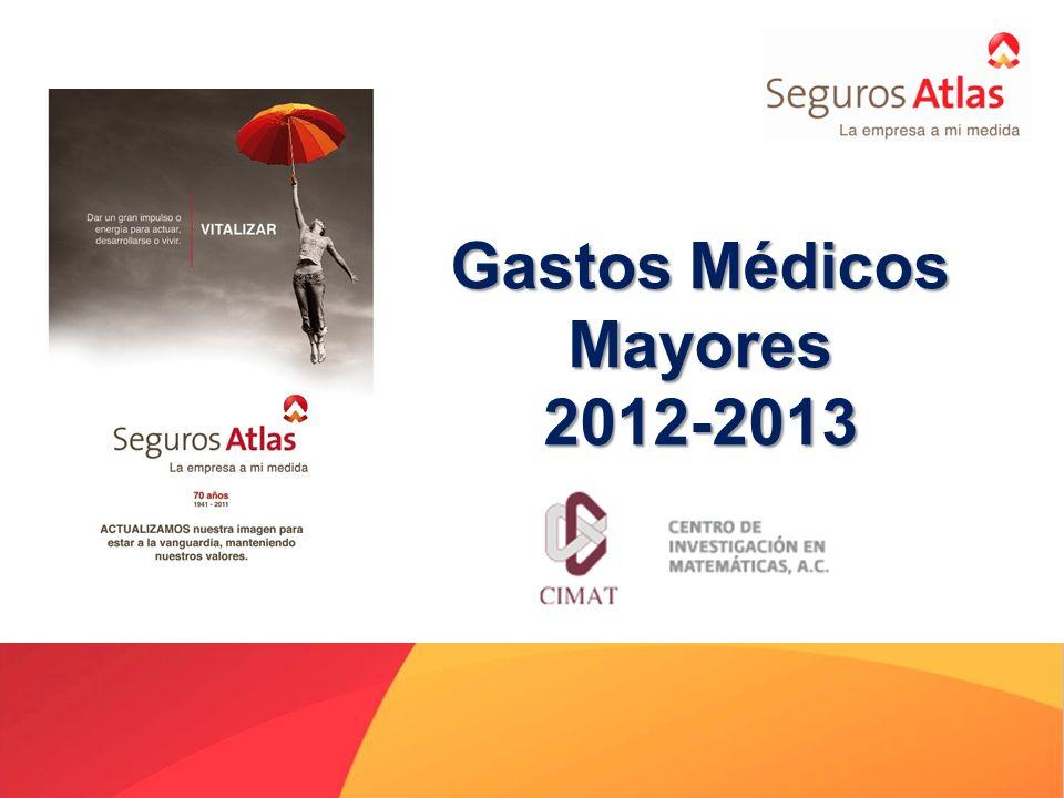 Gastos Médicos Mayores 2012-2013