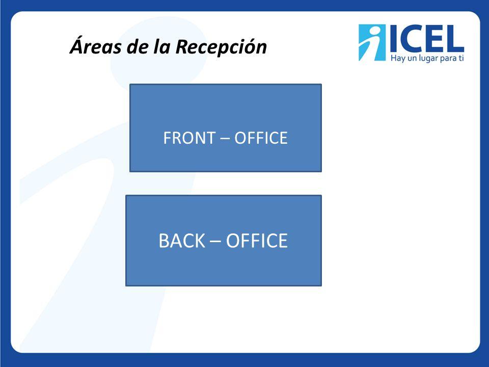 La recepción es el centro de operaciones donde se controlan todos los servicios que le son proporcionados a los clientes, desde el momento de su llegada hasta que abandona el hotel.