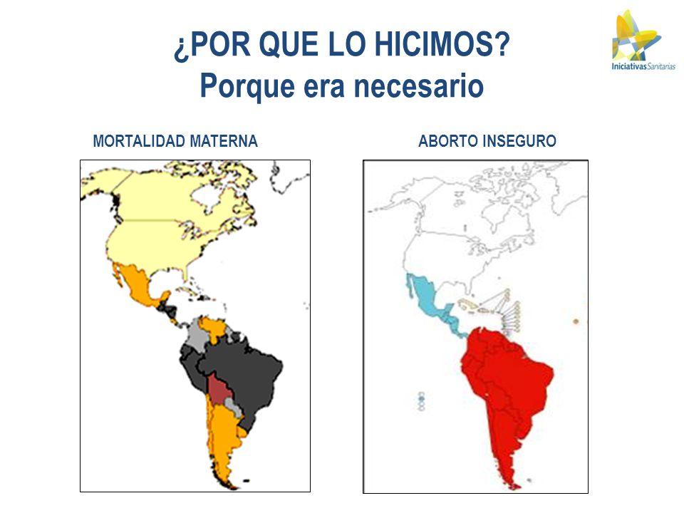 En Uruguay: 1 de cada 3 M.M.era por aborto inseguro.