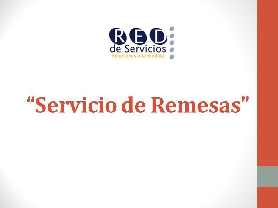 Servicio de Remesas