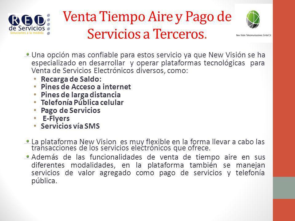 Servicio de Venta de Tiempo Aire y Pago de Servicios a Terceros PAGO DE SERVICIOS TELMEXCFE NacionalSKY NacionalADOSA PACO Agua Oaxaca MEGACABLE Nacional excepto QR,YUC, DF, CAMP ADTCABLEMASGAS NATURAL TELEFONICA MOVISTAR MAXCOM Regional DF,EDO, PUE, QRO AT&TSEN DA GE MONEYAGUA DRENAJE MonterreyAGUAKAN Quintana RooMULTIMEDIOS MONTERREY GLOBALCARD ECOGASFO MERREY NL RECARGAS DE SALDO TelcelMovistarIusacelUnefón NextelMovivendorViaducto Bicentenario PLANES DE LARGA DISTANCIA Todito buenoFonazo PLANES DE PAGO EN INTERNET Todito CashPay Safe
