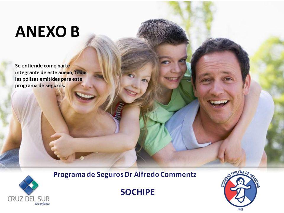 Gerencia de Canales Externos Asegurados: Médicos Socios a la Sociedad Chilena de Pediatría.