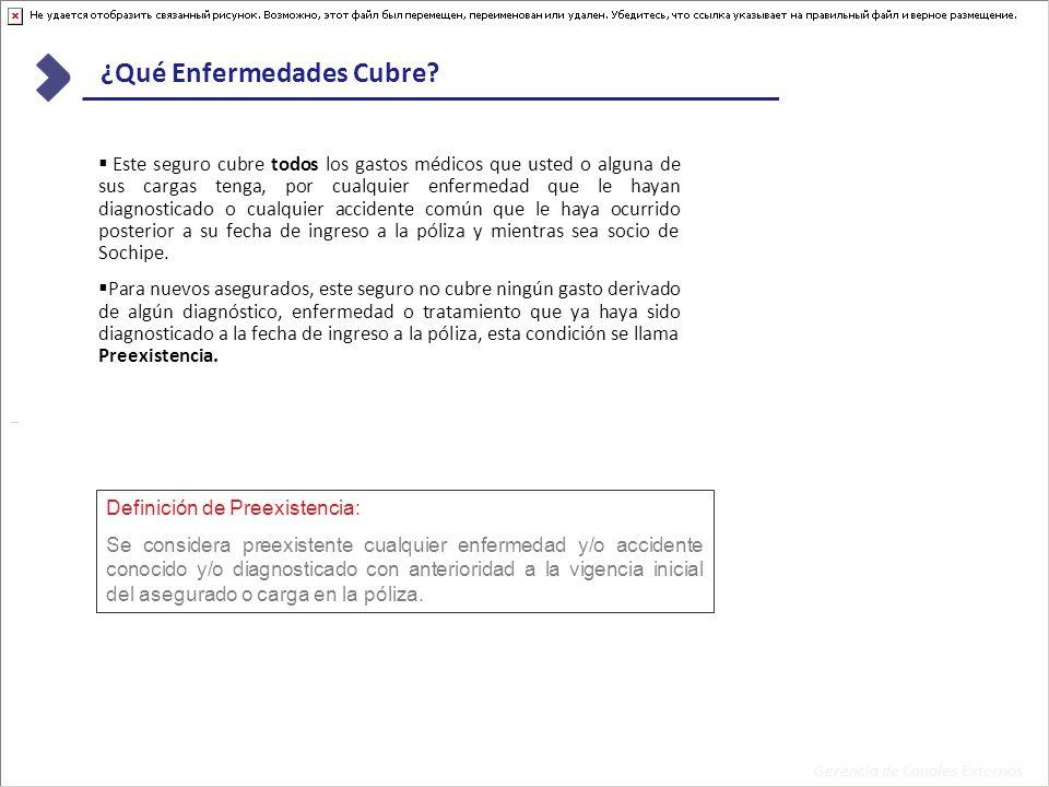 Gerencia de Canales Externos Seguro de Salud