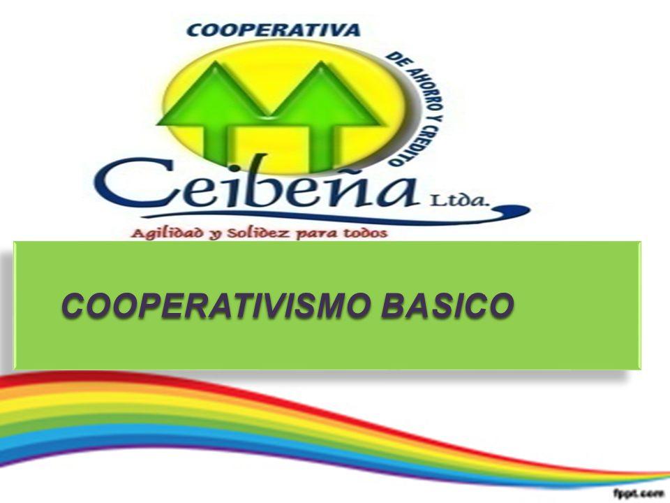 COOPERATIVISMO BASICO COOPERATIVISMO BASICO