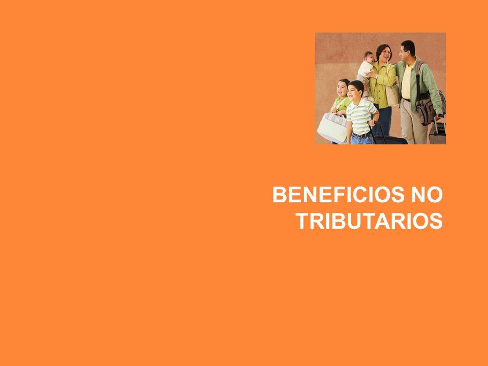 BENEFICIOS NO TRIBUTARIOS
