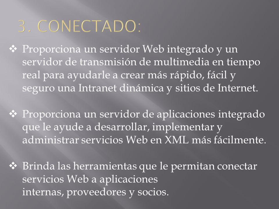 DATACENTER EDITION Contiene todas las características de Windows Server 2003, Enterprise Edition.