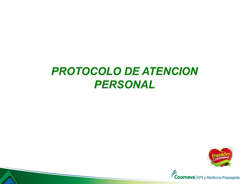 PROTOCOLO DE ATENCION PERSONAL