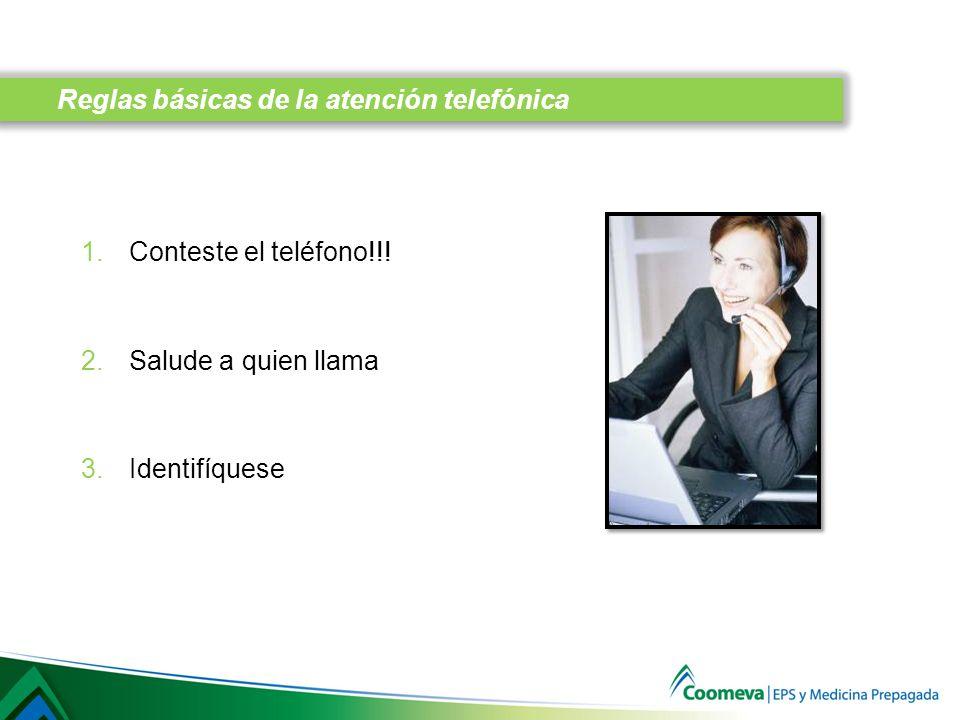 1.Conteste el teléfono!!.