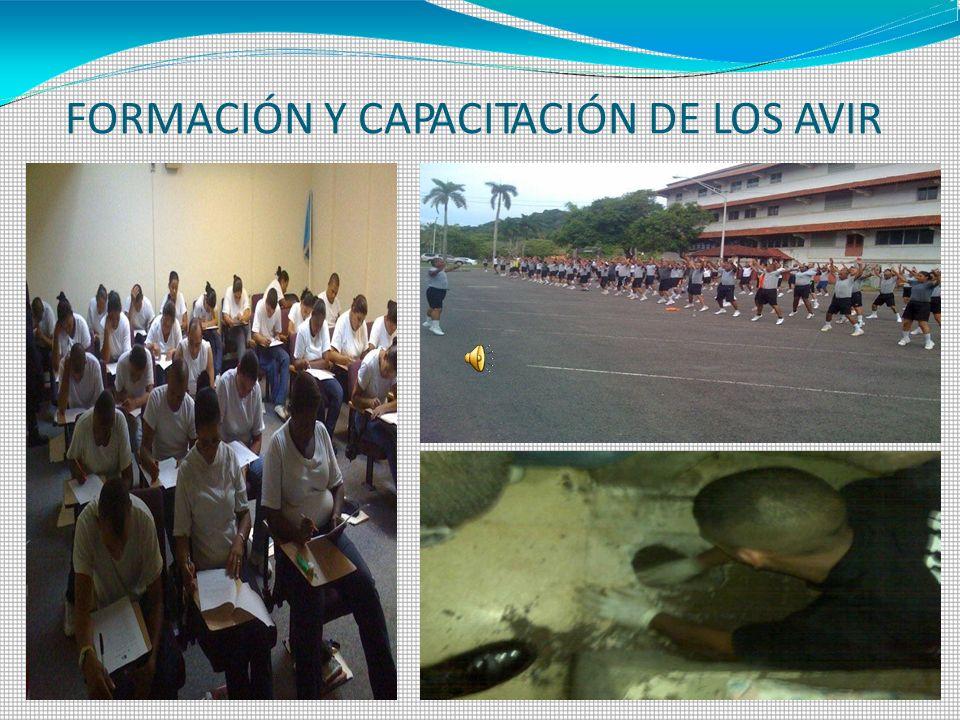 FORMACIÓN Y CAPACITACIÓN DE LOS AVIR