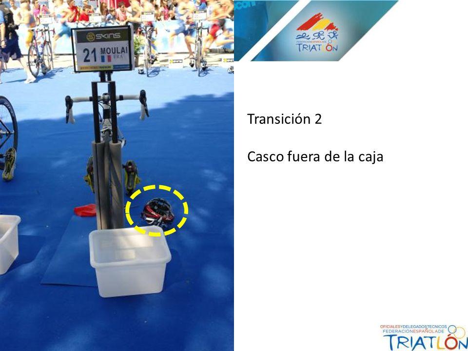 Transición 2 Casco fuera de la caja