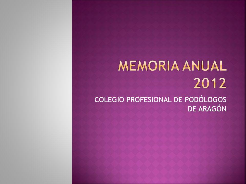 COLEGIO PROFESIONAL DE PODÓLOGOS DE ARAGÓN