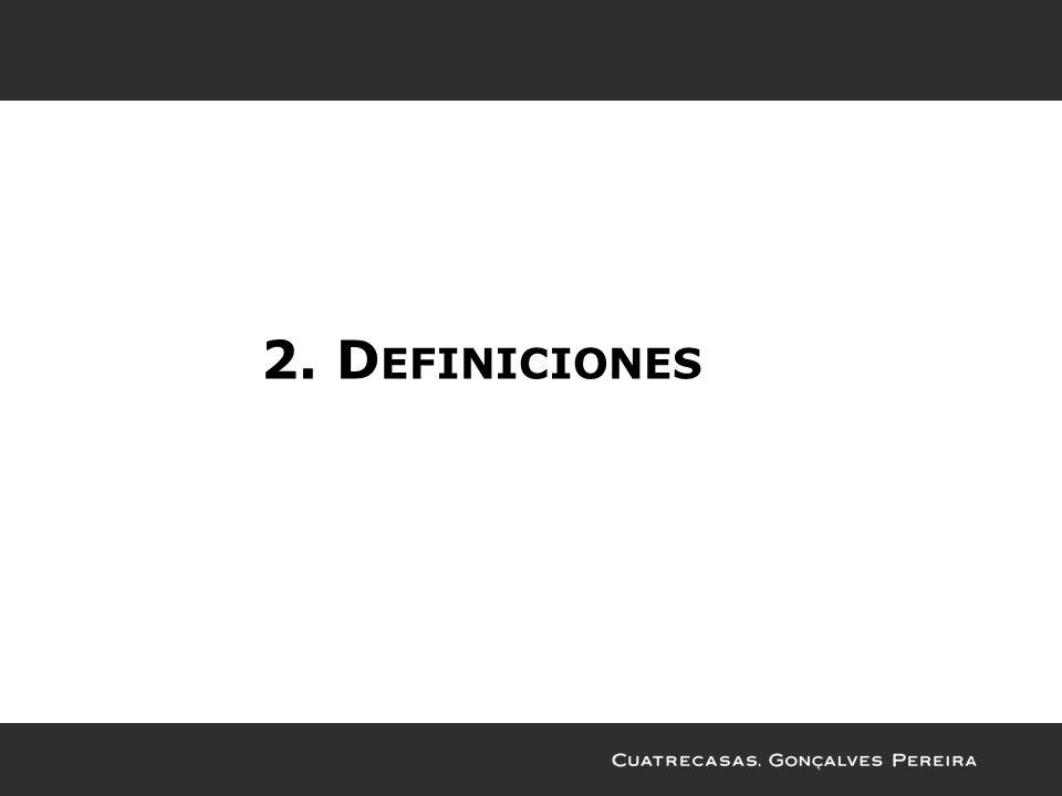2. D EFINICIONES