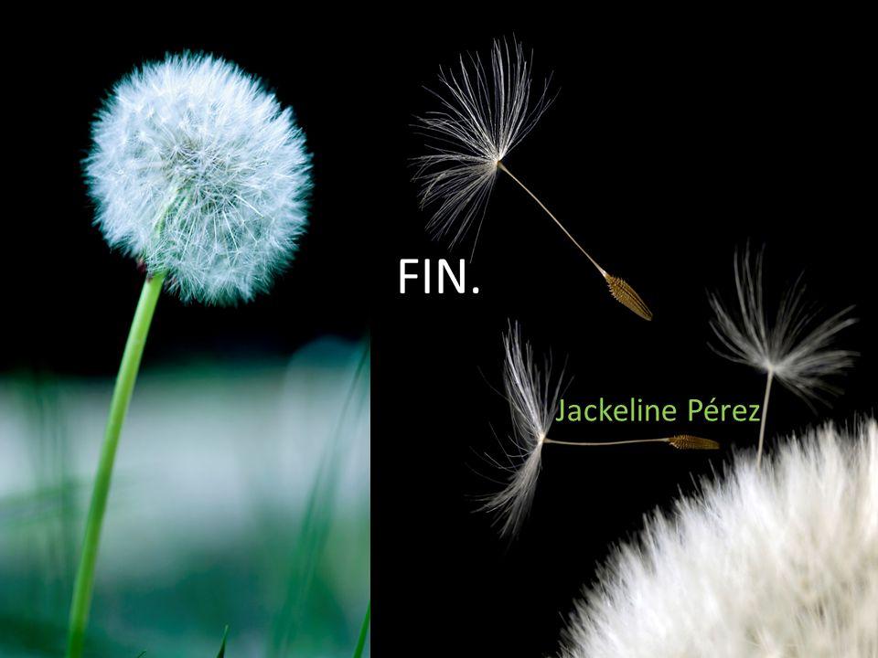 FIN. Jackeline Pérez