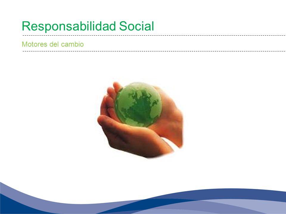 Responsabilidad Social Motores del cambio