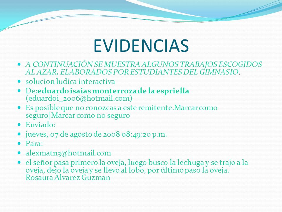 ESTA EXE LEARNING ES PARA ESTUDIANTES DE PRIMARIA -BACHILLERATO ENTRE OTROS.