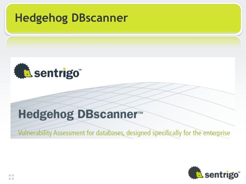 Hedgehog DBscanner
